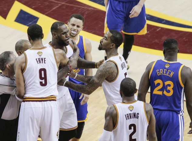 NBA Finals Cavaliers v Warriors