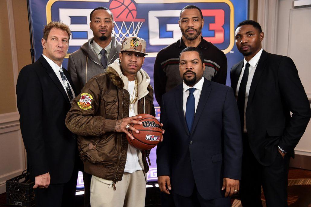 Ice Cube BIG3 Inaugural Basketball League