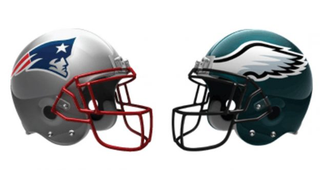 New England Patriots Against Philadelphia Eagles