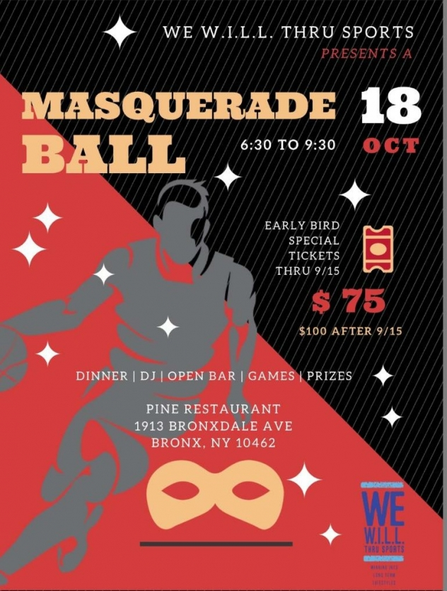 Masquerade Fall Fundraiser October 18 2018