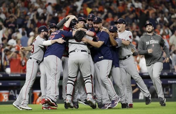 Boston Red Sox Win ALCS Pennant