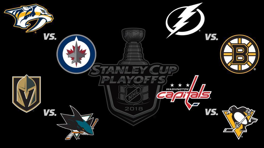 Second Round Stanley Cup Playoffs