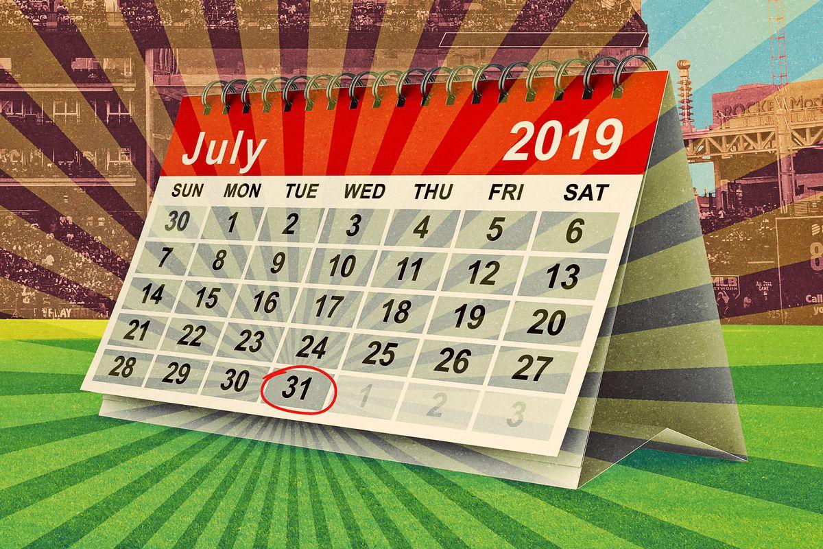 MLB Trade Deadline July 31 2019