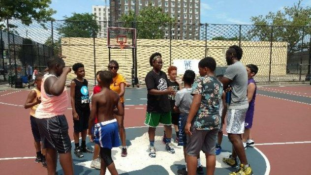 Successful Basketball Camp Program